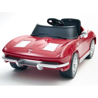 Kalee Corvette Stingray 12-volt Battery-powered Riding Toy - Red