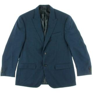 Sean John Mens Two-Button Peak Collar Sportcoat
