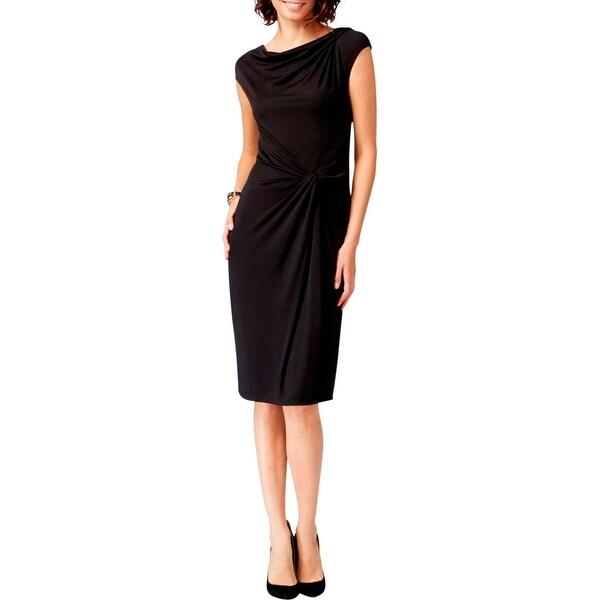 Shop Anne Klein Womens Wear To Work Dress Matte Jersey