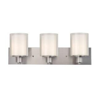"""Design House 579300 Penn 3 Light 24"""" Wide Bathroom Vanity Light"""