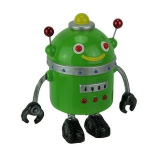Spring Arm Retro Robot Coin Bank Money Box