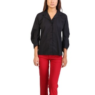 Prada Women's Cotton Jacket Black - 6
