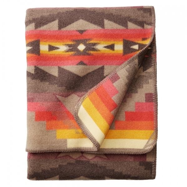 Pendleton Craftsman Sierra Ridge Southwestern Heirloom Wool Blanket. Opens flyout.