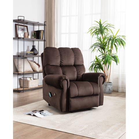 lift recliner with heat therapy and massage, suitable for the elderly
