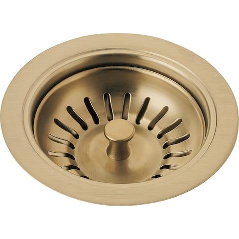 Delta Kitchen Sink Flange and Strainer (72010-CZ)