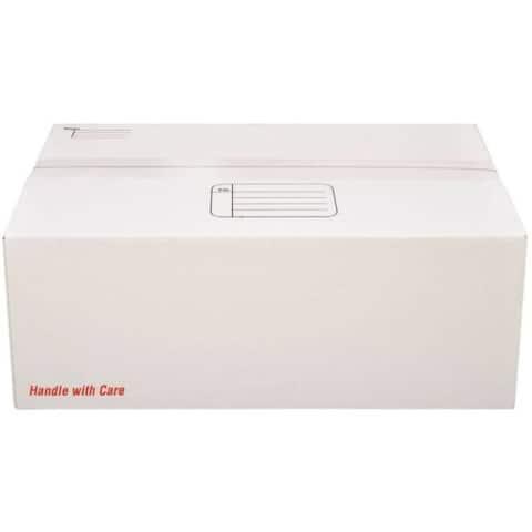 "Scotch 8007 Mailing Box 17.25""x11.25""x6"", White"