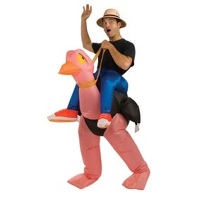 Adult Inflatable Ostrich Animal Costume Size Standard - standard - one size