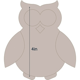 "Couture Creations Quilt Essentials Quilting Die-Owl - Applique 3.6""X4"""