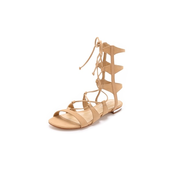 SCHUTZ Womens Erlina Open Toe Casual Gladiator Sandals