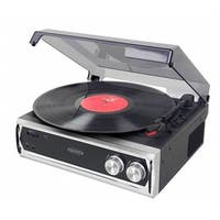 Audio  3 Speed Stereo Turntable With Built In Speakers & Speed