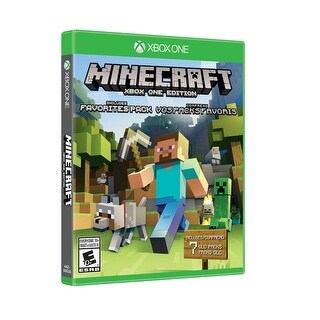 Microsoft Minecraft: Xbox One Edition Favorites Pack Action/Adventure Game Xbox One (44Z-00025)