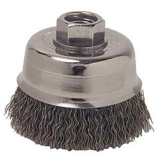 "Weiler 36037 Wire Cup Brush, 6"""