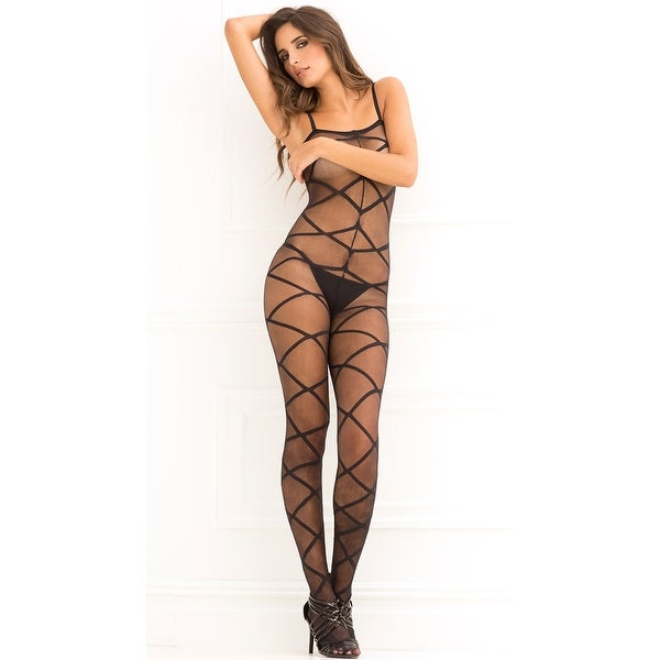1fdee9ae2c6 Shop Strapped Up Sheer Bodystocking