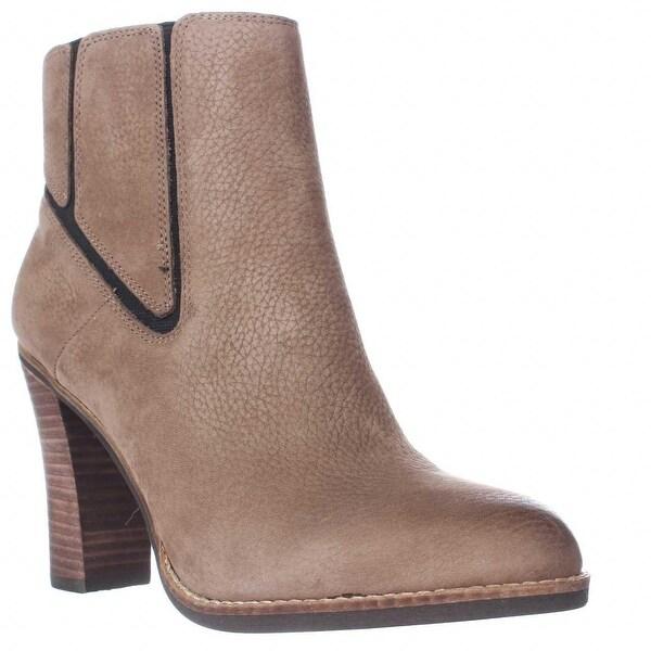 Lucky Maldeev Block Heel Ankle Boots, Brindle - 8 us / 38 eu