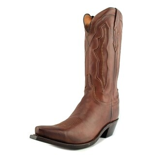 Lucchese M004 Ranch Hand Women Pointed Toe Suede Tan Western Boot