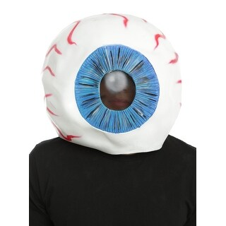 Suicide Squad Eyeball Adult Overhead Latex Costume Mask, One Size - Multi