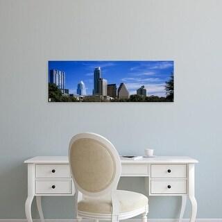 Easy Art Prints Panoramic Image 'Skyscrapers, South Congress, South Congress Avenue, Austin, Texas' Canvas Art