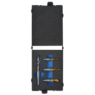 vidaXL 4 Piece Spot Weld Drill Bit Set HSS-Cobalt