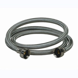 "ProFlo PF146814 48"" Double Reinforced Washing Machine Supply Hose"