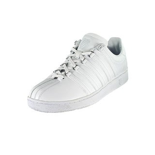 K-Swiss Classic VN  Men  Round Toe Leather White Tennis Shoe