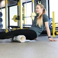 CASL Brands 3-in-1 Foam Roller Set for Releasing Muscle Tension - Black