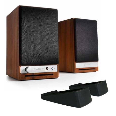 Audioengine HD3 Wireless Powered Speakers with DS1 Desktop Speaker Stands