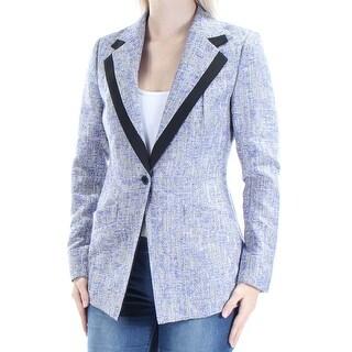 ANNE KLEIN $159 Womens New 1495 Purple Suit Wear To Work Jacket 4 B+B