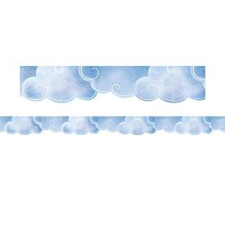 Mystical Magical Clouds Border