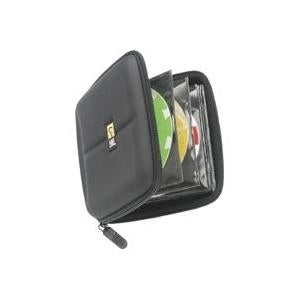 """Case Logic CDE-24 Case Logic 24 Capacity Heavy Duty CD Wallet - Book Fold - Fabric - Black - 24 CD/DVD"""