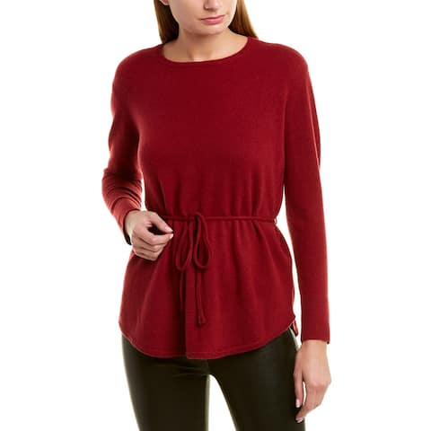 525 America Belted Cashmere Sweater