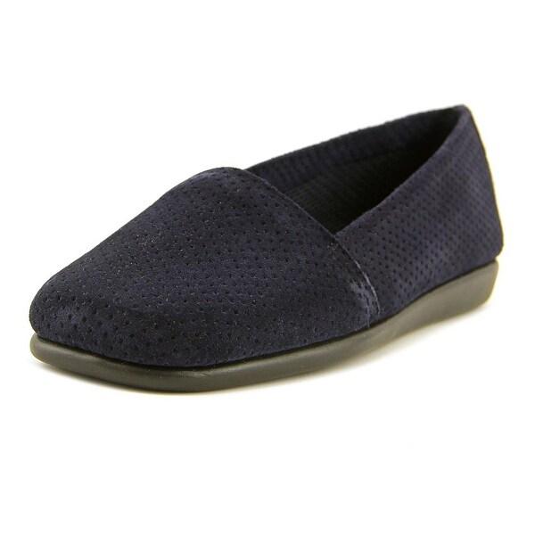 Aerosoles Mr Softee Women Round Toe Suede Blue Loafer
