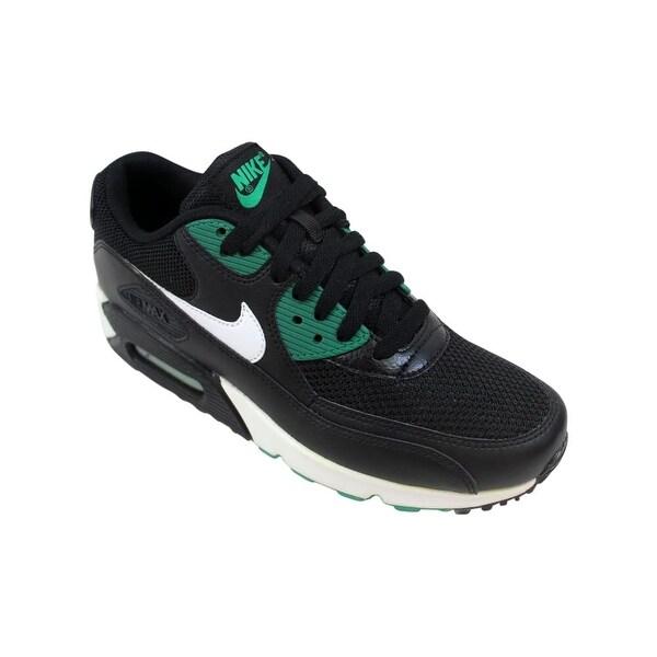 Shop Nike Air Max 90 Essential BlackWhite Lucid Green