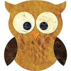 """Owl 4""""X4.5"""" - GO! Fabric Cutting Dies"""