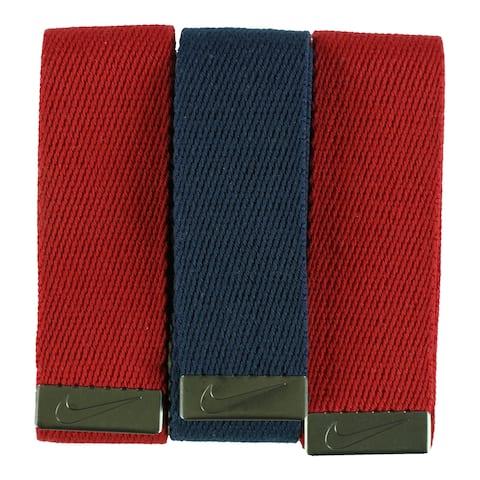 Nike Mens 3 Pack Belt - One Size