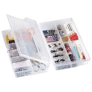 "ArtBin Quick Flip Storage Box-9.25""X6""X2.5"" Translucent"