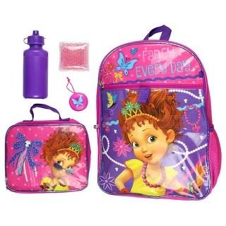 Shop Disney Junior Fancy Nancy Fancy Everyday 16 Backpack And Lunch Kit 5pc Set Overstock 30780185