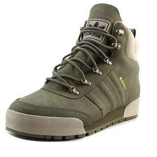 Adidas Jake Boot 2.0 Men Round Toe Leather Brown Boot