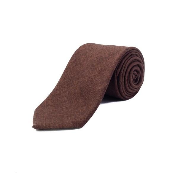 04dc7116 Ermenegildo Zegna Men's Wool Tie Brown - No Size