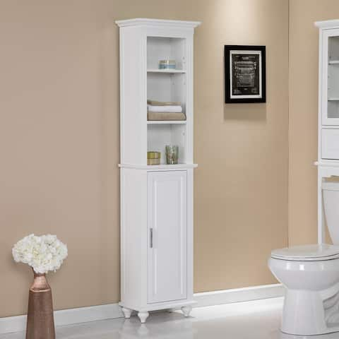 Harper Blvd Addy Traditional White Wood Cabinet
