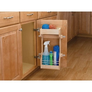 Rev-A-Shelf 4SBSU-18 4SBSU Series Sink Base Door Storage 2 Shelf Organizer - N/A