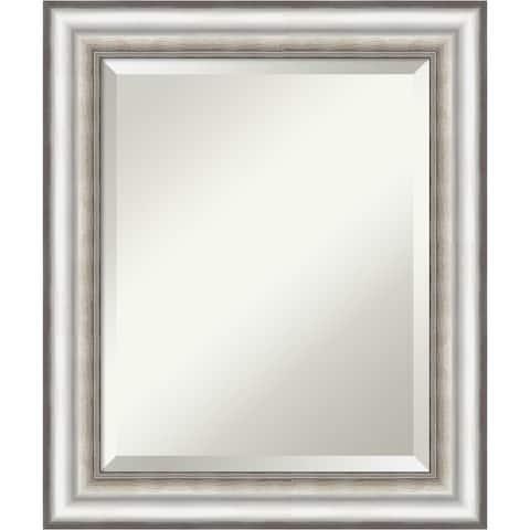 Salon Silver Bathroom Vanity Wall Mirror