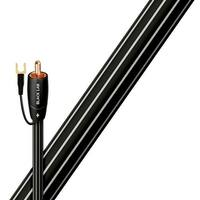 AudioQuest Black Lab RCA Male to RCA Male Subwoofer Cable - 6.56 ft. (2m)
