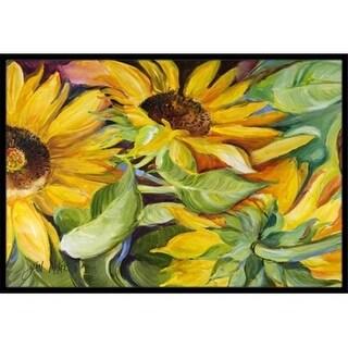 Carolines Treasures JMK1122MAT Sunflowers Indoor & Outdoor Mat 18 x 27 in.
