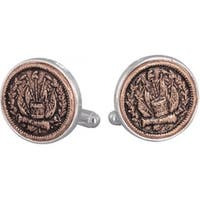 Civil War Token Cufflinks Coin Collector Memorbilla