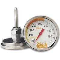 Taylor 814OMG Grill Smoker Thermometer, Stainless Steel
