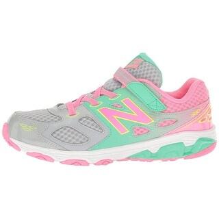 New Balance Baby Girl ka680gkl Fabric Slip On Sneakers