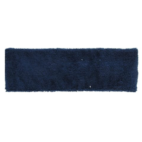 Sports Sweatband Tennis Athlete Protective Elastic Head Band Navy Blue