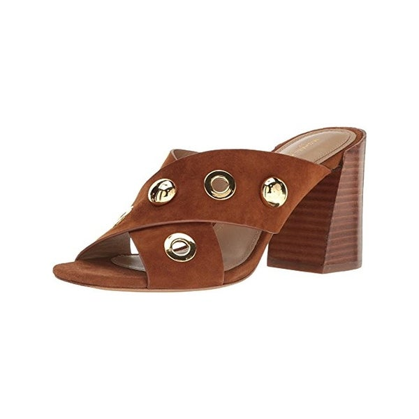 Michael Kors Womens Brianna Dress Sandals Mules Studded