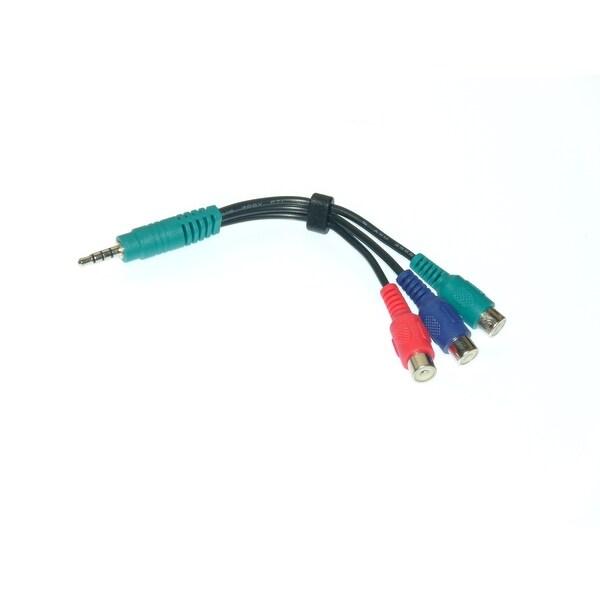 NEW OEM Lazelle Brand Component Video Cable For Samsung UN49MU7000F, UN43KU6300F, UN49MU7600F