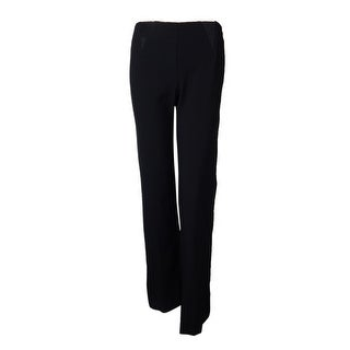 Alfani Women's Gallery Style Wide Leg Side Zip Pants - 2